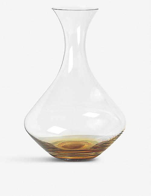 BROSTE: Amber glass decanter 1.6L