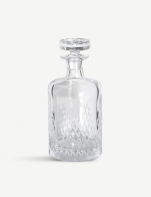 SOHO HOME Barwell small crystal decanter 350ml