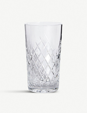 SOHO HOME Barwell cut crystal Highball glass set of two