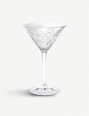 SOHO HOME Barwell crystal martini glass set of 2