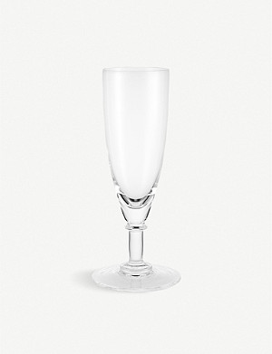 THE WOLSELEY Crystal champagne flute 18.2cm