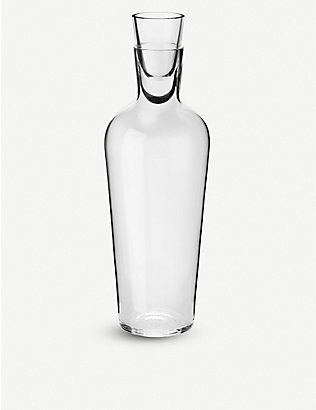 RICHARD BRENDON: Jancis Robinson old wine decanter