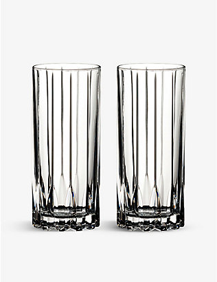 RIEDEL: Highball glasses 310ml set of two