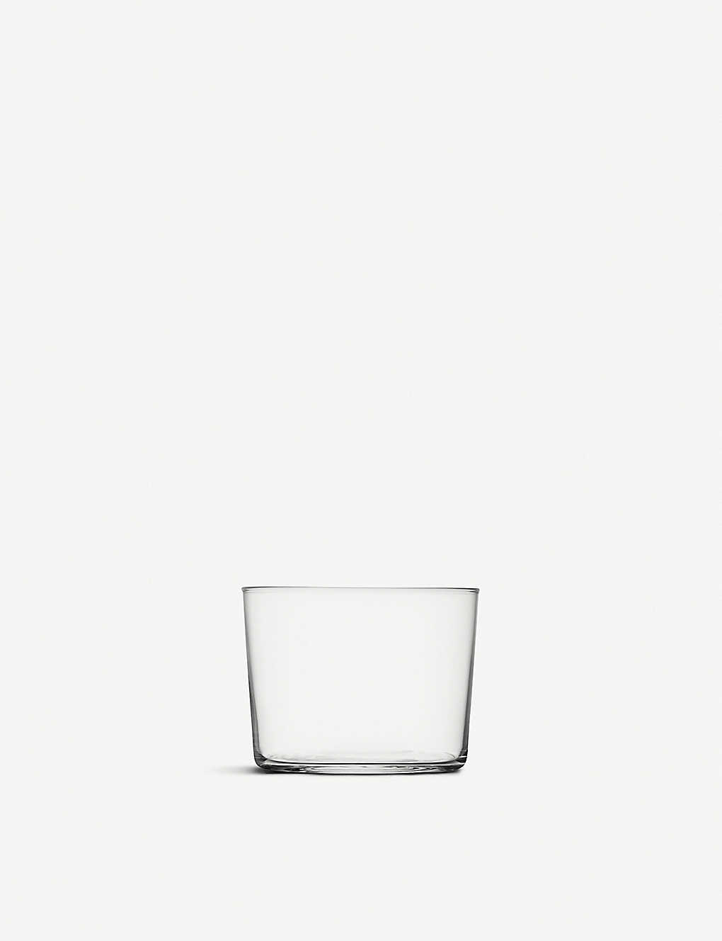 LSA: Gio glass tumblers 220ml set of four