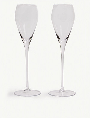 LSA Prosecco glasses set of two