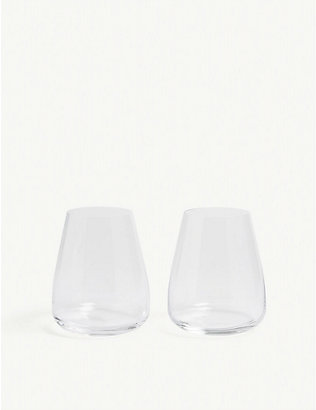 LSA: Wine Culture water glass set of two 590ml