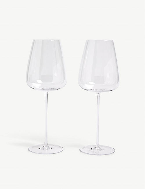LSA White wine goblets set of two 690ml