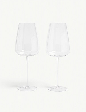 LSA Red wine grand glass set of two 800ml