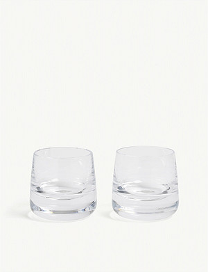 LSA Bar Culture whiskey glass set of two 220ml