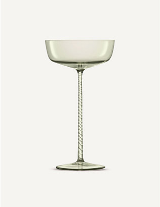LSA: Champagne Theatre Champagne saucer set of two