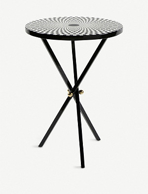 FORNASETTI Egocentrismo lacquered wood table 56cm