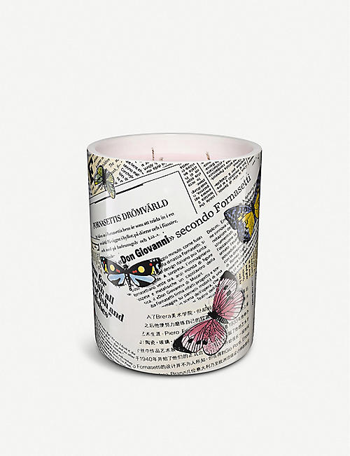 FORNASETTI Ultime notizie scented candle 900g
