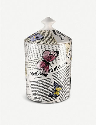 FORNASETTI: Ultime Notizie scented candle 300g