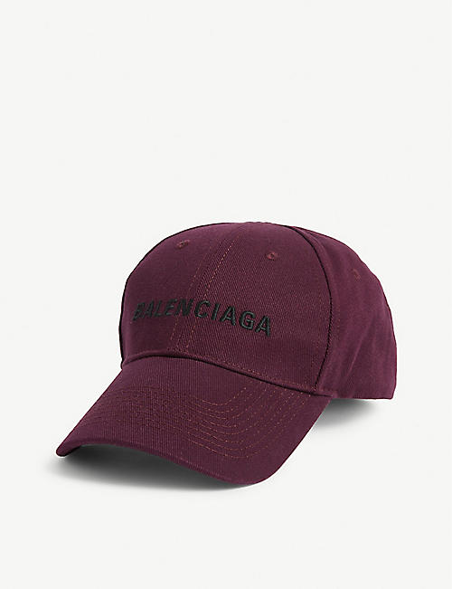 BALENCIAGA Logo cotton baseball cap
