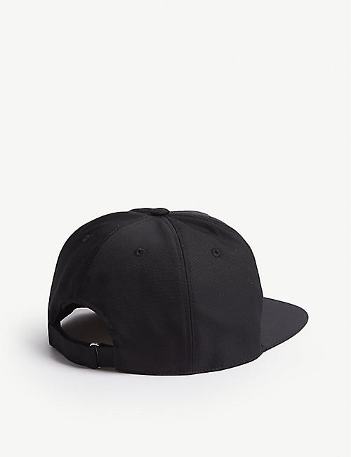 GIVENCHY Logo-embroidered woven strapback cap