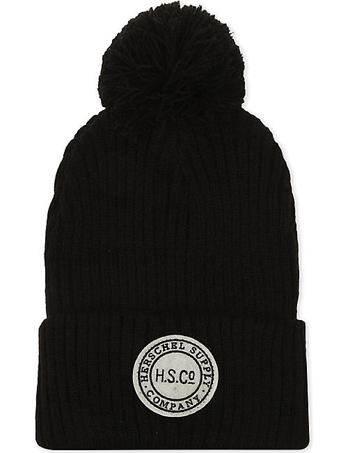 various colors 5b15d 6f6e5 ... germany herschel supply co sepp knitted bobble beanie 94ea9 681dd