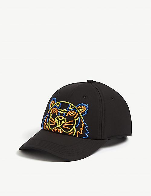 e2ceedffe0f KENZO Tiger logo neoprene cap