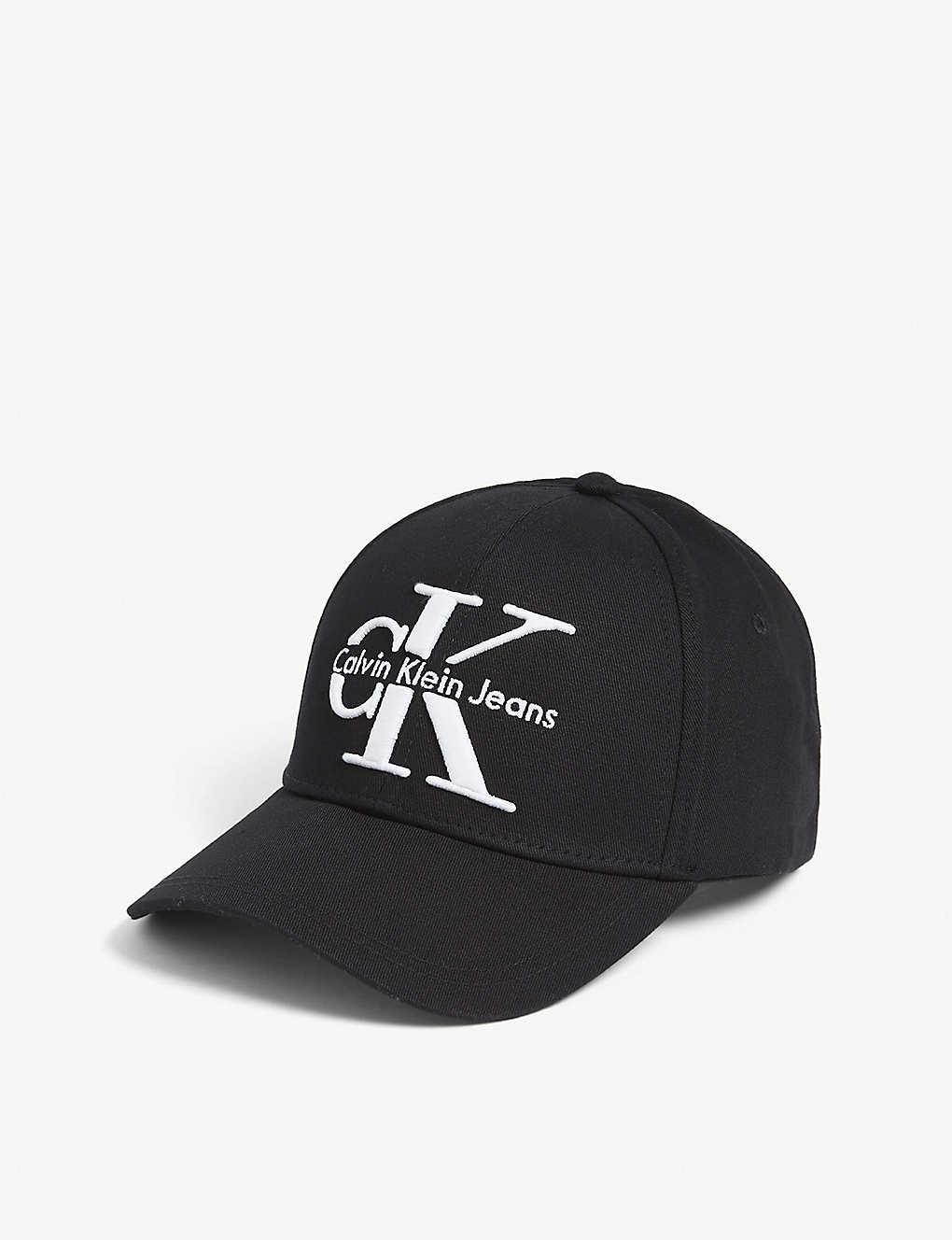 220a4ae5 CALVIN KLEIN - 'CK' logo cotton cap | Selfridges.com