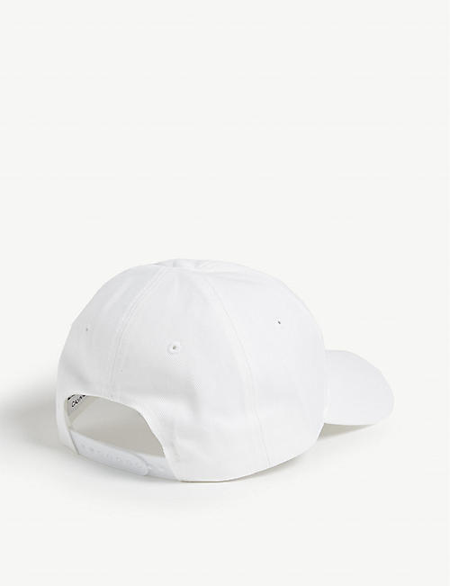 CALVIN KLEIN Appliqué logo cotton cap