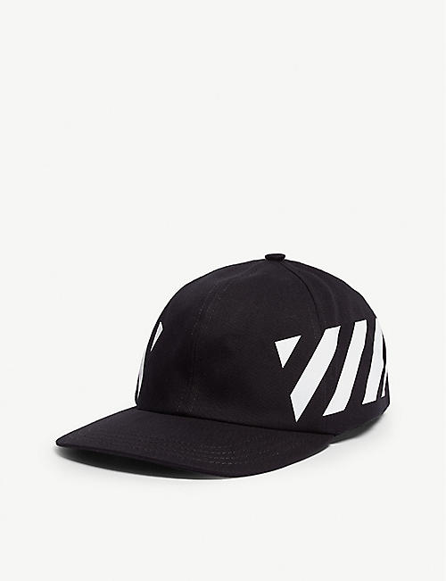 5d31fbfc5a0 OFF-WHITE C O VIRGIL ABLOH Logo-print cotton snapback cap. Quick view Wish  list
