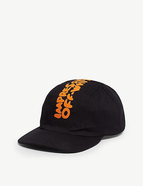 4c6c3e95dc7d OFF-WHITE C O VIRGIL ABLOH Impressionism cotton baseball cap