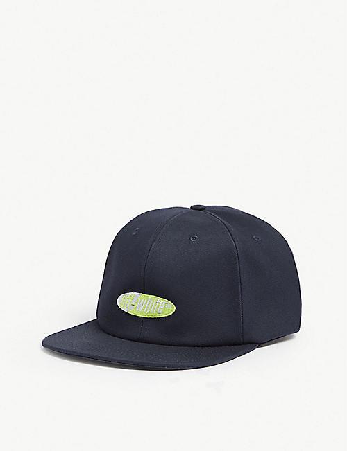 c48b815a27f5 OFF-WHITE C O VIRGIL ABLOH Split logo cotton snapback cap