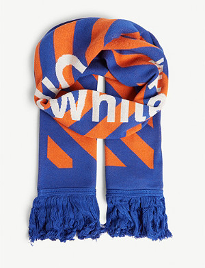 OFF-WHITE C/O VIRGIL ABLOH Arrow jacquard scarf