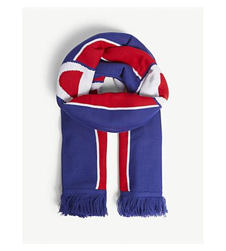 CHAMPION - Logo stripe knitted scarf  c5f8835a23c83