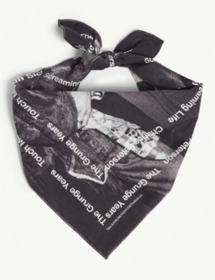 THE SOLOIST Kurt and Courtney cotton bandana