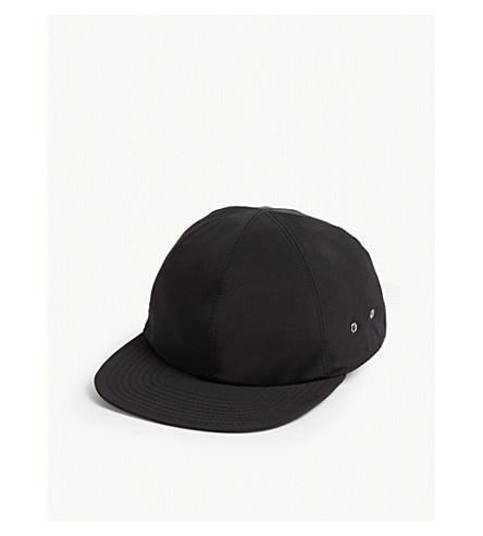 5c2dcda31cb31 1017 ALYX 9SM Woven baseball cap (Black+silver