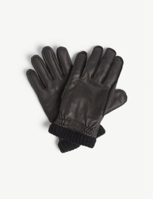 d1f1cfce59d95 HESTRA - Utsjo leather gloves | Selfridges.com