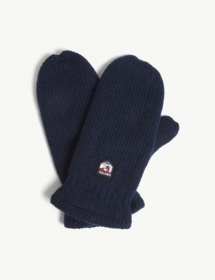 HESTRA Thinsulate wool mittens