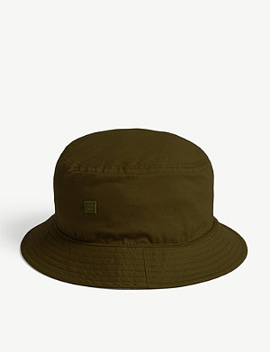 878b22e2c4712 ACNE STUDIOS - Face appliqué bucket hat | Selfridges.com