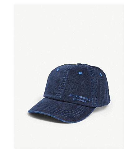 Acne Studios Accessories CARLIY COTTON BASEBALL CAP