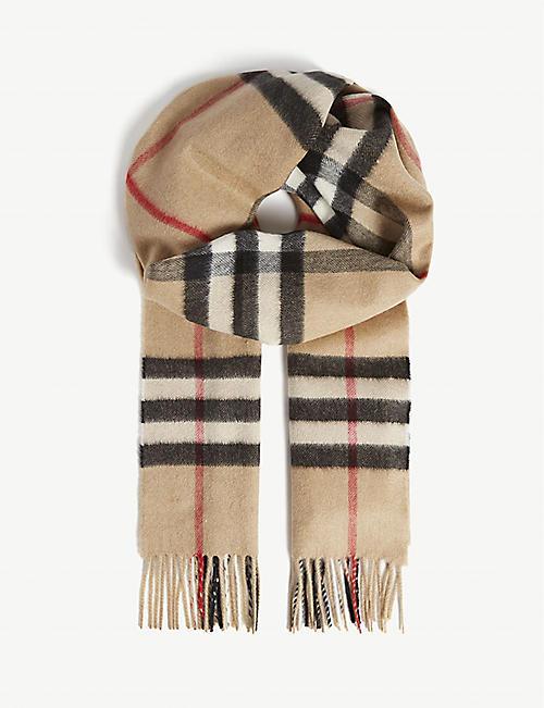 9a320cf55 Cashmere - Scarves - Accessories - Mens - Selfridges | Shop Online