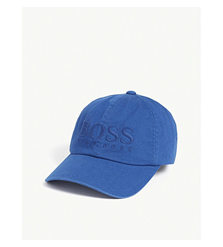 ... BOSS Fritz logo cotton cap (Blue. PreviousNext 78b99e3db82f
