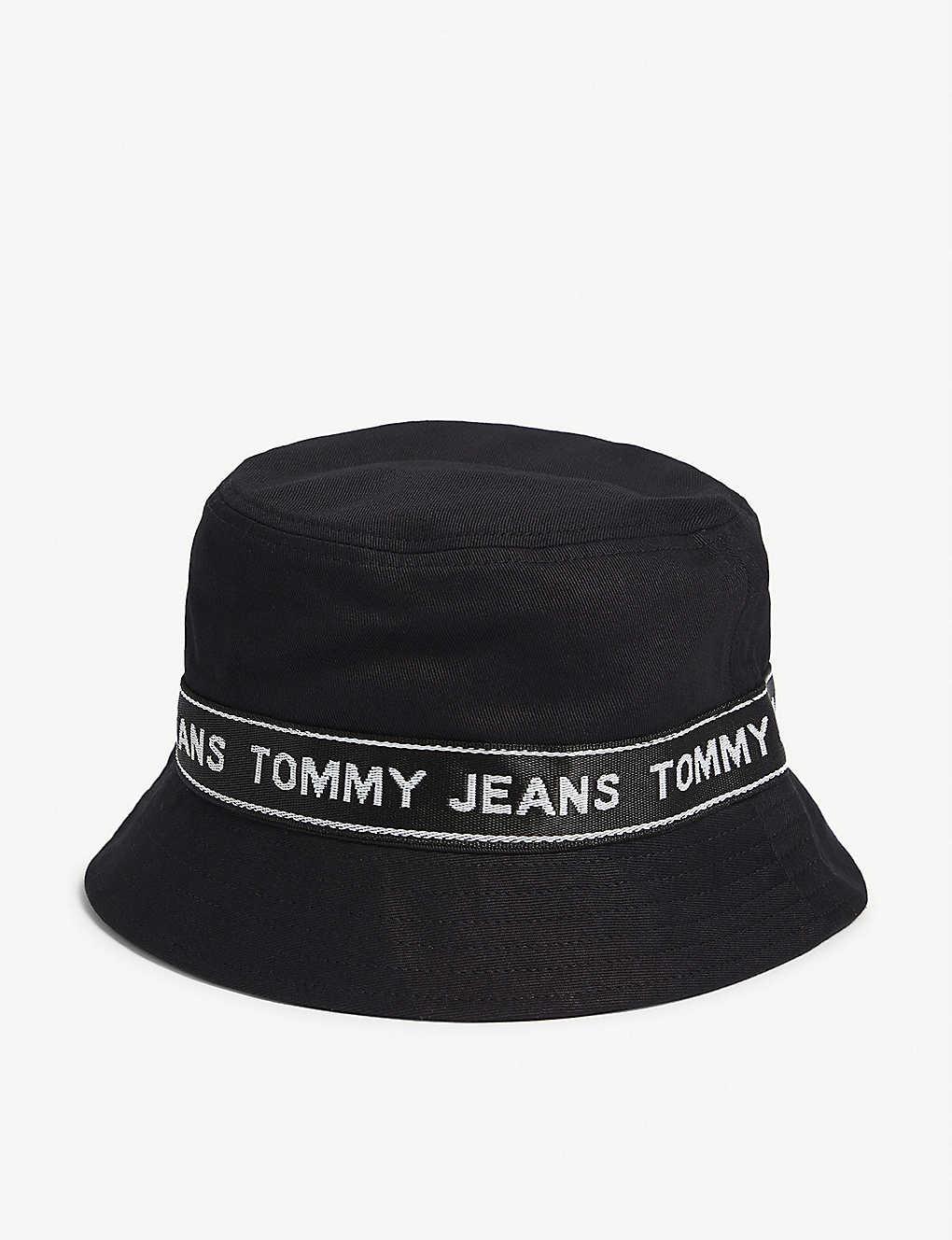 ff364297 TOMMY HILFIGER - Logo tape bucket hat | Selfridges.com
