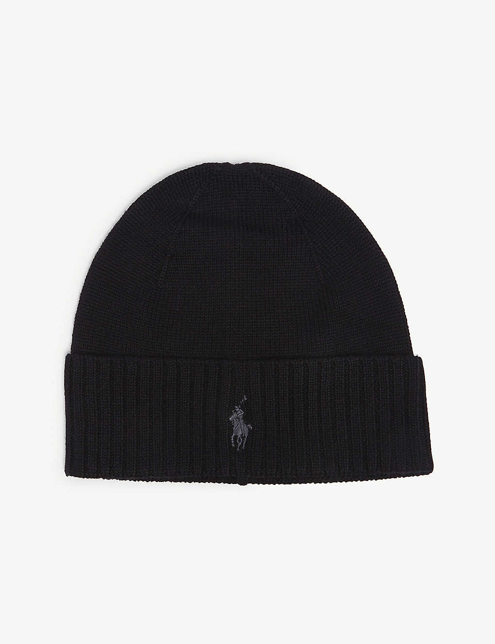 0485074c329801 POLO RALPH LAUREN - Embroidered logo wool beanie | Selfridges.com