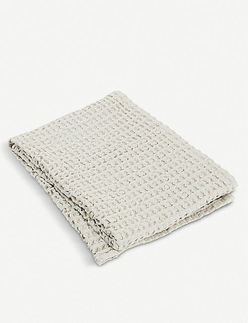 BLOMUS Caro waffle-knit cotton hand towel 100x50cm