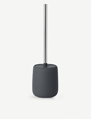 BLOMUS Sono toilet brush and ceramic holder 39cm