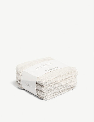 BLOMUS Guest cotton hand towels set of four