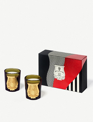 CIRE TRUDON The Revolutionary scented candles set of two