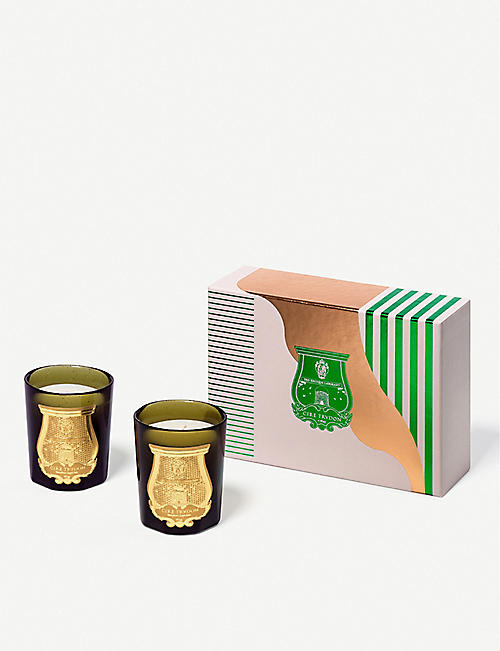 CIRE TRUDON Imperial scented candles set of two