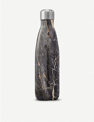 SWELL: Bahamas Gold Marble water bottle 483ml