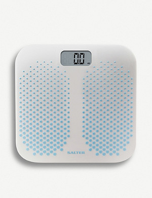 SALTER Anti Slip Dual Bathroom Scale