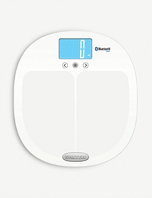 SALTER Curve Bluetooth Smart Analyser bathroom scale