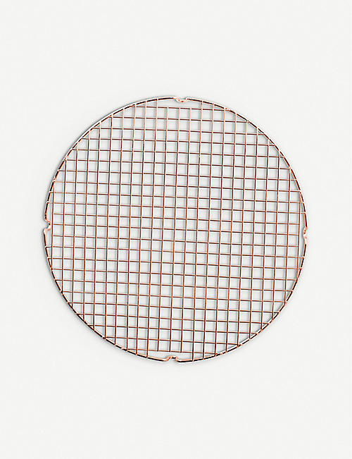 NORDICWARE Round copper cooling and serving grid 33.1cm
