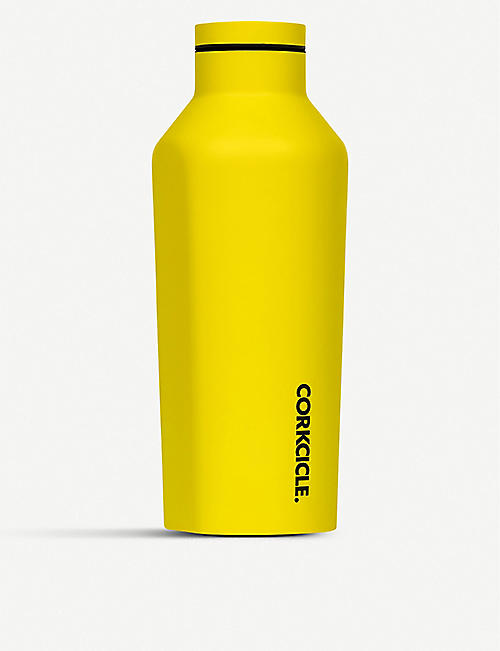CORKCICLE Neon stainless steel canteen 9oz