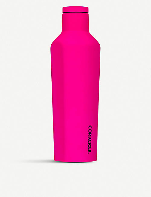 CORKCICLE Neon stainless steel canteen 16oz