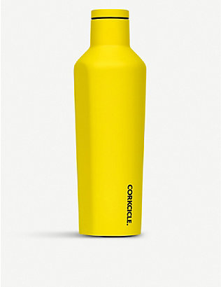 CORKCICLE: Neon stainless steel canteen 16oz
